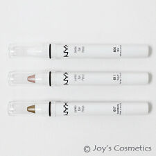 "3 NYX Jumbo Eye Pencil-B(611,604,617) ""Yogurt,Milk,Mocha""  *Joy's cosmetics*"