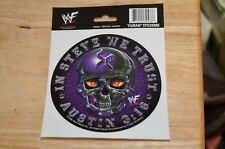 RARE WWE Stone Cold Austin Yujean Sticker decal IN STEVE WE TRUST AUSTIN 3:16