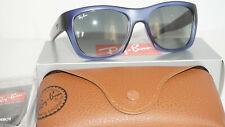 Ray Ban New Sunglasses Translucent Blue Grey RB4194 603171 53 140