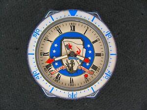 Slava quartz watch USSR  glory of the Navy rare