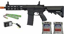 Tippmann Tactical Commando AEG Airsoft Gun 6mm Rifle + 9.6v + Charger + 2,000 BB