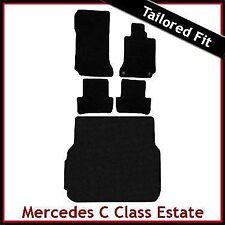 Su misura moquette Pavimento & le stuoie di avvio per Mercedes Classe C-Tenuta Manuale 2007-2011