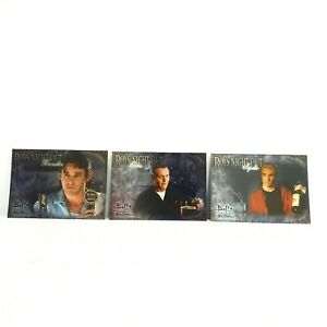 Buffy the Vampire Slayer Men of Sunnydale Boys Night Out 2005 Inkworks Cards