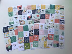 Simple Stories Posh Planner Stickers Carpe Diem NEW