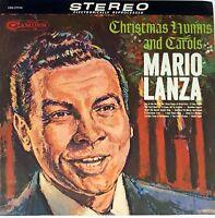 Mario Lanza CHRISTMAS HYMNS LP RCA Record 33 RPM 1963 Vinyl RARE(#2)
