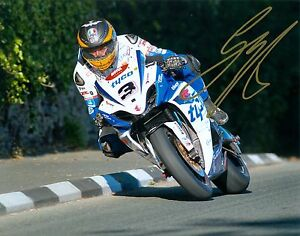 Guy Martin Signed 2012 Isle of Man TT 16 x 12 picture & we can show you proof