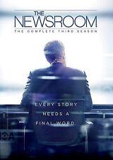The Newsroom Complete Series 3 DVD All Episodes Third Season Original UK NEW R2