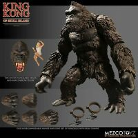 "😱😱 King Kong of Skull Island 7"" Action Figure Mezco ultimate toys Godzilla 😍"