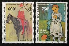 Timbre / Stamp MALI - Yvert et Tellier Aérien n°427 et 428 obl (Cyn16)
