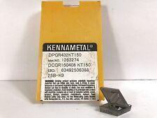 KENNAMETAL DPGR432 DCGR150408 New Cermet Inserts Grade KT150 5pcs O