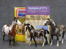 Breyer * Classic Paint Horse Family * Pinto Vintage Club Traditional Model Horse