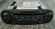 ORIGINALI VW NEW BEETLE CD mp3 RADIO AUTORADIO CON CODICE!!!
