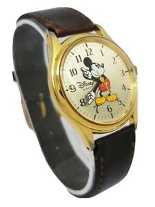 Disney Time Works Mickey Mouse Quartz Watch **New Battery** A5