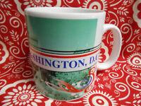 Vintage Starbucks Mug 1998 Washington DC Oversized Coffee Mug 16oz Large