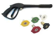 SPRAY GUN & TIP / NOZZLE KIT - Power Pressure Washer Water Pumps Up to 3000 psi