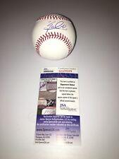 ZACK COLLINS SIGNED autograph BASEBALL JSA CHICAGO WHITE SOX CATCHER