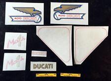 Ducati bevel single 250 mach1 complete bike kit decals