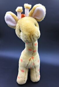 """Old Bear & Friends by Jane Hissey Jolly Tall the Giraffe Soft Toy 13"""" Comforter"""