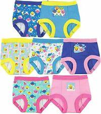 Handcraft Girls' Toddler Baby Shark Potty Training Pants Size 4T 7 Pack