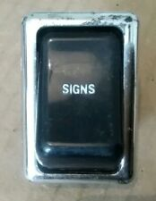 Austin Morris Rover BMC Signs Light Switch Lucas 39599 NOS FREE UK POST