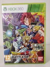 Microsoft Xbox 360 DRAGONBALL Z BATTLE OF Z VERSIONE ITALIANA QUASI COME NUOVO