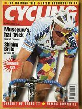 CYCLING WEEKLY - 11 APRIL 1998 - MUSEEUW - ARCHER GP - GRUNDIG XC1
