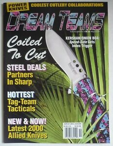Blade Magazine Presents DREAM TEAMS Power Knives,  Annual 2000 NOS