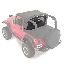 Rampage 90015 Wind Breaker Denim Black for 1976-2006 Jeep Wrangler CJ & YJ TJ