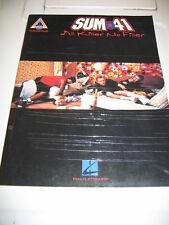 Sum 41 All Killer No Filler (Guitar Recorded Version)  – songbook Book