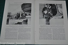 1932 MAPPING THE ANTARCTIC FROM THE AIR magazine article, Byrd Expedition