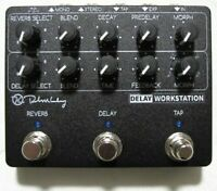 Used Keeley Delay Workstation Delay/Reverb w/ Tap Tempo Guitar Effects Pedal