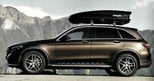 Box auto portabagagli FARAD KORAL 400 lt baule tetto universale grigio opaco