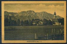 Hall in Tirol 1921 Cartolina 100% Usata con 2 francobolli