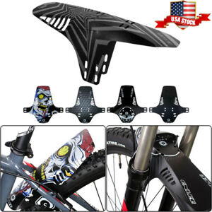 Bicycle retractable mudguard-super pressure resistant,taillights 2PCS Front//Rear