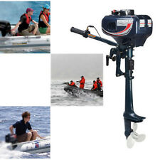 2 Stroke 3.5HP Petrol Power Outboard Engine Fishing Boat Engine Motor CDI System