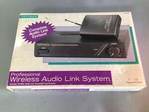 Optimus Wireless Audio Link System