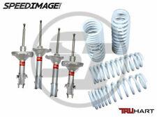 For 02-07 Subaru Impreza & WRX TruHart Sport Shocks And Lowering Springs Set