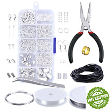 Jewelry Making Findings Finding Lot Crafts Supplies Beads Accessories Tools Kit