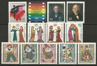 Germany Berlin 1970 MNH Collection Commemorative Stamps (2 sets/5 singles)