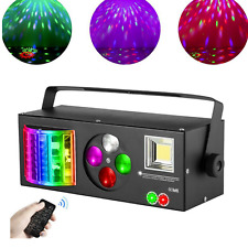 Laser Stage Lighting Projector LED RGB DJ Disco KTV Show Party Lampe DMX 4 in 1
