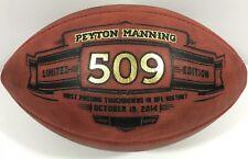 18 PEYTON MANNING SIGNED AUTOGRAPHED COLTS BRONCOS SUPER BOWL FOOTBALL 509  JSA fba127637