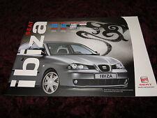 Seat Ibiza Brochure 2006 - 09/05 Issue