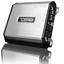 DS18 4 canal amplificador clase D gama completa 1500 vatios MAX Plata S1500.4D/SL