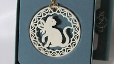 Lenox Yuletide Series Kitty Cat Pierced Ornament in Box (1Zcq)
