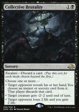 Collective Brutality Eldritch Moon MTG Black Sorcery RARE