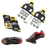 2x Self-locking Road Bike Cycling Pedal Cleats Set For SM-SH11 -SL*ji