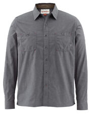 Simms Black's Ford Flannel Shirt - Nightfall - XL - Free US Shipping CLOSEOUT