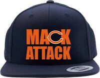 Navy Khalil Mack Chicago Bears Sack Mack Attack Snapback Hat