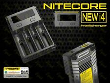 Nitecore NEW i4 Intellicharger / Universal Four Channel Smart Battery Charger
