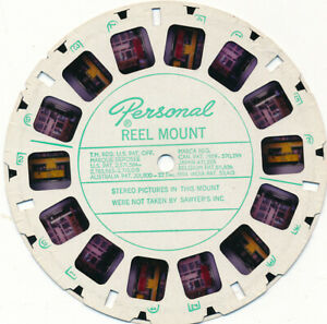 VIEW-MASTER PERSONAL REEL: Toy Electric Train (NR)